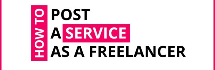 How To Post A Service As A Freelancer On Crowdshare?